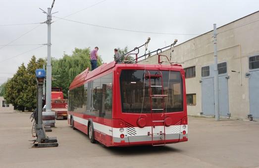 Завтра на улицы Ивано-Франковска выедут новые белорусские троллейбусы