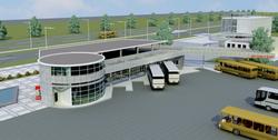 Город Южный обзаведется современным автовокзалом за внебюджетные средства