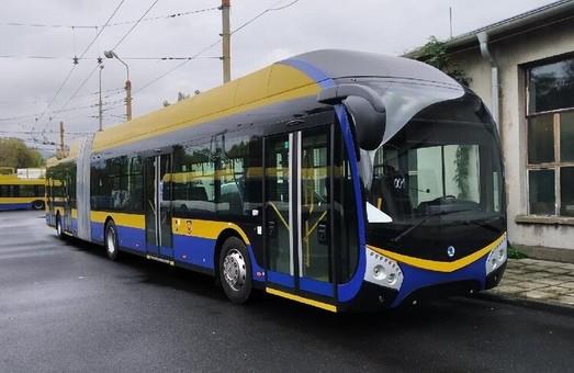 Чешский город Теплице получил первый троллейбус «Škoda 33Tr»