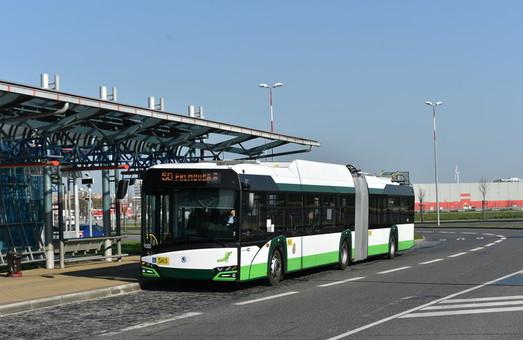 Прага хочет купить 20 сочлененных троллейбусов