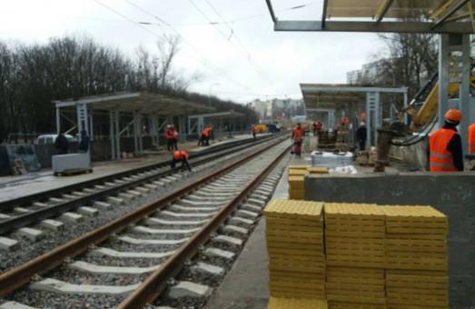 На станции скоростного трамвая Киева «Политехническая» проведут реконструкцию