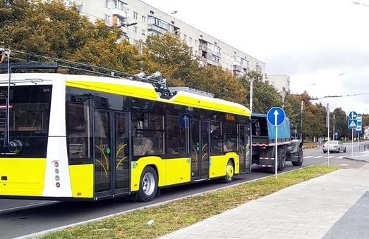 Первая партия новых троллейбусов «Электрон» приступит к работе на маршрутах Львова в ноябре