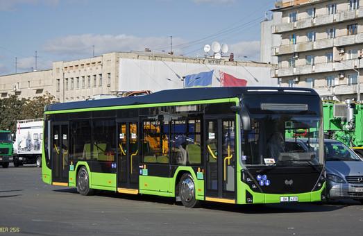 В Житомир приехал белорусский электробус БКМ Е321