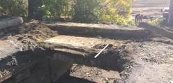 На трассе Болград – Кубей в Одесской области восстанавливают разрушенный мост