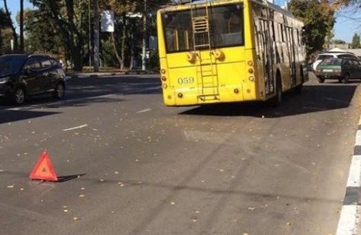 В Сумах фиксируют поломки новых троллейбусов
