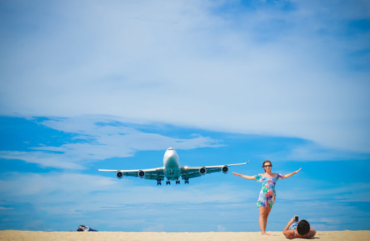 Более половины всех международных туристов в 2018 году воспользовались авиационным транспортом