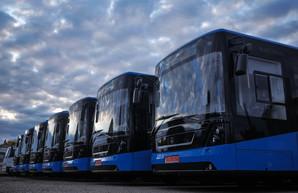 Ужгород уже получил все 10 автобусов «Электрон»