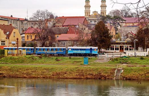 Детские железные дороги в Западной Украине перевезли более 70 тысяч пассажиров