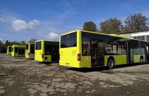 Коммунальный перевозчик Львова восстанавливает автобусы ЛАЗ