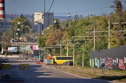 В Одессе на улице Софиевской осталось проложить трамвайные рельсы всего на одном квартале (ФОТО)