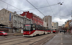 Новые трамваи от компании «Татра-Юг» презентовали на международном инвестиционном форуме «5Т» в Одессе