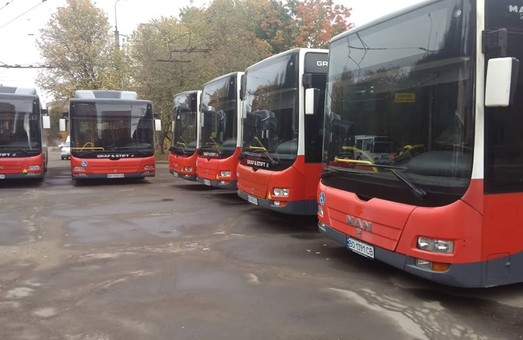 «Тернопольэлектротранс» презентовал очередную партию коммунальных автобусов