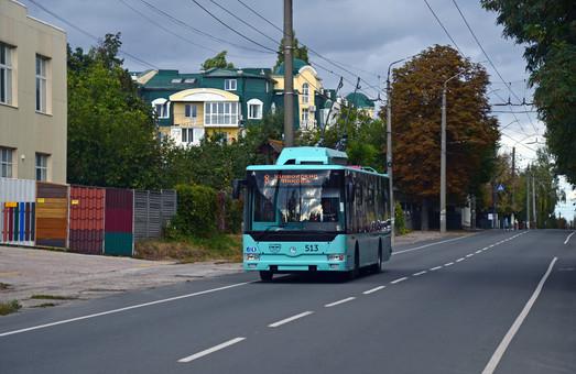 Троллейбусы «Барвинок» Т121 появятся в Черкассах