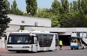 Одесский аэропорт закупил три перронных автобуса