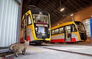 В Одессе на маршруты выехали два новых трамвая