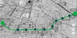 В Мехико презентовали проект надземной линии скоростного троллейбуса