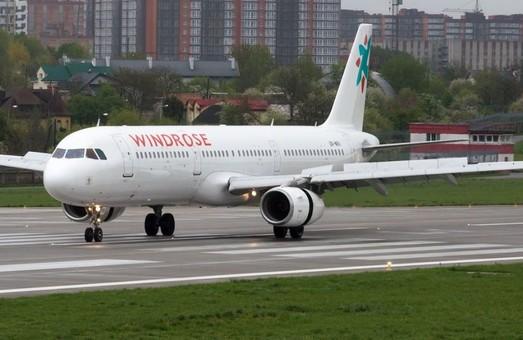 Авиакомпания «Windrose» планирует летать из Киева в Любляну