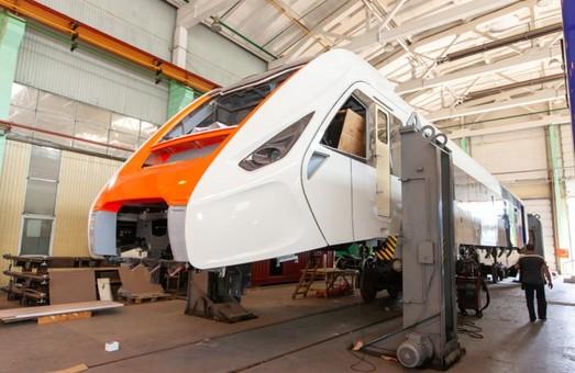 Новый дизель-поезд Крюковского вагоностроительного завода будет обслуживать линию «Kyiv Boryspil Express»