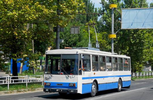 Сегодня горсовет Херсона рассматривает вопрос о кредите на модернизацию троллейбусного хозяйства