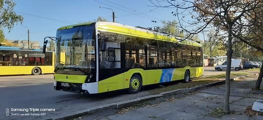 Десяток троллейбусов «Электрон» Львов должен получить до начала ноября