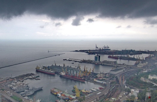 Порт Одессы нарастил перевалку грузов