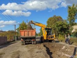 В Измаиле продолжают ремонтировать улицу Кишиневскую