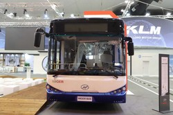 Китайская компания «Higer» представила новые модели своих автобусов