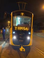 """Новый трамвай """"Одиссей-Макс"""" начал испытания на улицах Одессы (ФОТО)"""