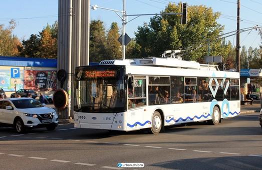 Новые троллейбусы, выпущенные на «Южмаше», уже перевозят пассажиров в Днепре (ФОТО)