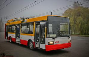 В Одессе запустили на линию первый электробус с динамической подзарядкой (ФОТО)