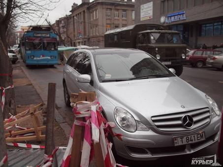 Главный одесский парковщик покинул свою должность