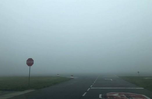 Утренний туман внес коррективы в работу международного аэропорта Львова