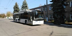 В троллейбусном депо Бахмута пополнение