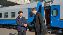 В Казахстане показали новые пассажирские вагоны (ФОТО)