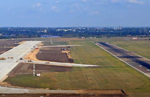 В Одесском аэропорту строят новый перронный комплекс
