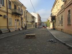 Воронцовский переулок в Одессе таки могут сделать пешеходным – работы по реконструкции планируют завершить в декабре