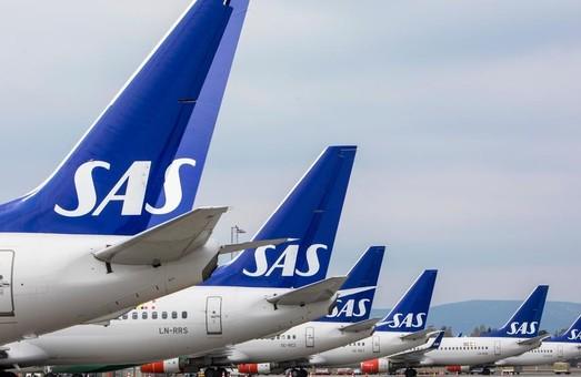 Авиакомпания «Scandinavian Airlines» снова начала летать в Украину