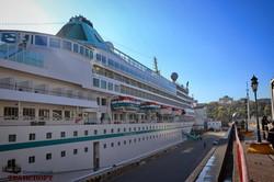 В Одессу зашел океанский круизный лайнер «Amera» (ФОТО)