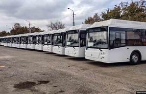 В Симферополь и Ялту поставили 44 новых автобуса