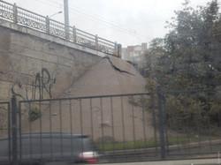 В Одессе разрушается путепровод над Балковской возле автовокзала