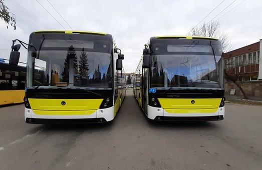 Первая партия троллейбусов «Электрон» уже в троллейбусном депо Львова