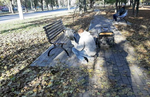 В Одессе заканчивают реконструкцию пешеходной зоны на улице Ицхака Рабина (ФОТО)