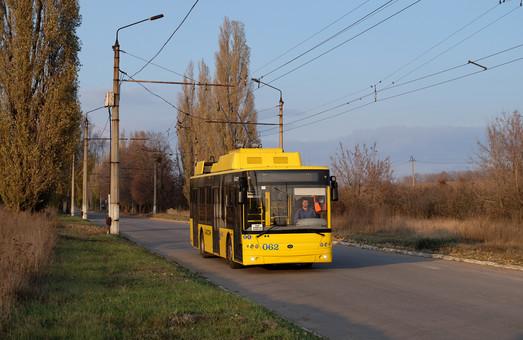 В Сумах новые троллейбусы начали работать с пассажирами