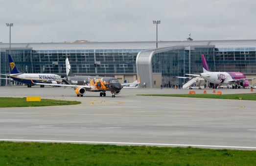 Аэропорт Львова в октябре 2019 года обслужил почти на 45% больше пассажиров, чем в октябре прошлого года