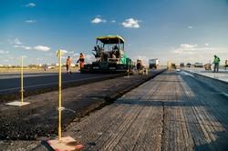 В аэропорту Одессы завершают строительство новой рулежной дорожки