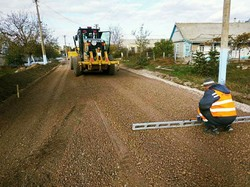 В Одесской области ремонтируют местную автодорогу Белолесье – Приморское – Рассейка
