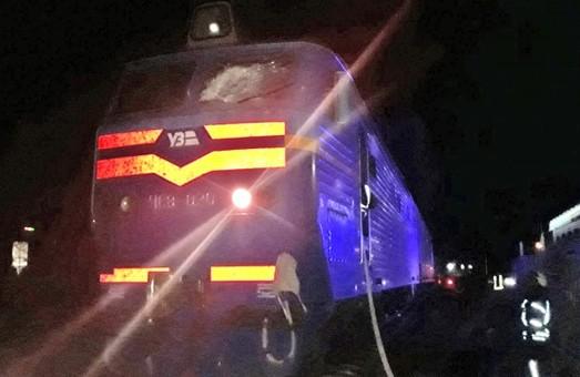 Под Киевом вчера горел электровоз пассажирского поезда