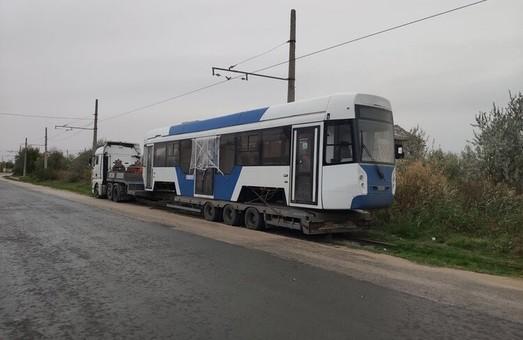 В Евпатории испытывают новый трамвай производства «Уралвагозавода»