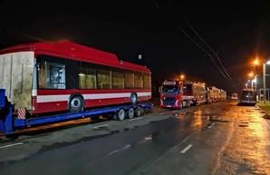 В Ивано-Франковск прибыло еще 10 троллейбусов из Беларуси (ФОТО)
