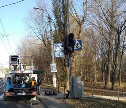 В Хмельницком все старые ламповые светофоры заменят на светодиодные
